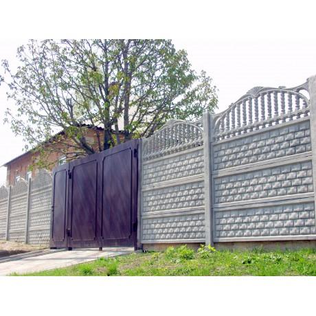Ворота гладкие  2м х 3м