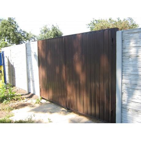 Ворота профлист  2м х 3м